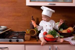Кухня - место для развития ребенка!