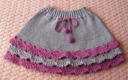 Правила для вязания юбок