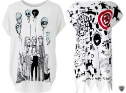 Модные футболки от дизайнеров