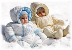 Комбинезон для ребенка: удобно, тепло, красиво