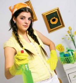 Обеспечить чистоту и порядок – забота мамы