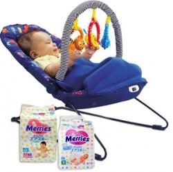 Подгузники Merries - лучшее качество для вашего малыша