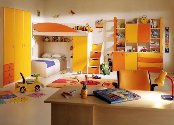 порядок в детской комнате
