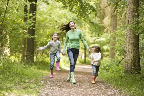 весенние прогулки с малышами