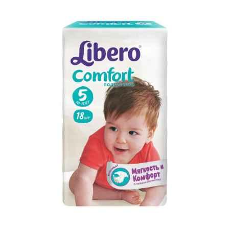 Купить Libero Подгузники Libero Comfort Maxi+ 10-16 кг (18 шт) Размер 5