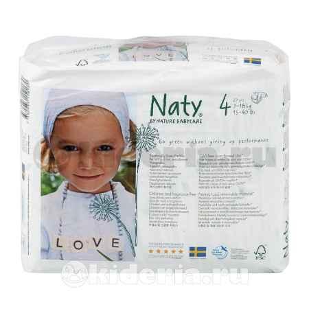 Купить Naty Подгузники размер 4, 7-18 кг, 27 шт