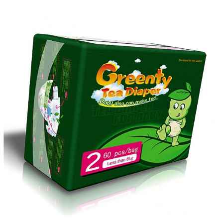Купить Greenty Подгузники Greenty Econom до 6 кг (60 шт) Размер 2