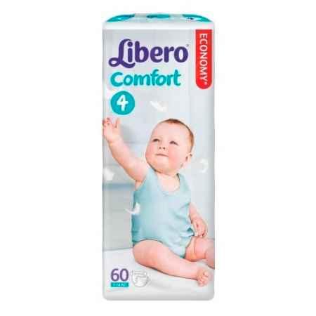 Купить Libero Подгузники Comfort 4 (7-14 кг) 60 шт.