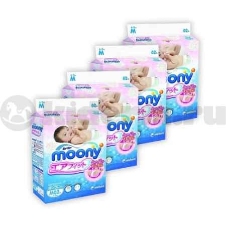 Купить Moony Набор подгузников 4-8 кг и 6-11 кг