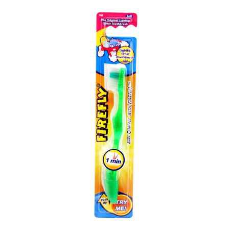 Купить FireFly Зубная щетка Firefly С мигающим таймером и присоской от 1,5 лет