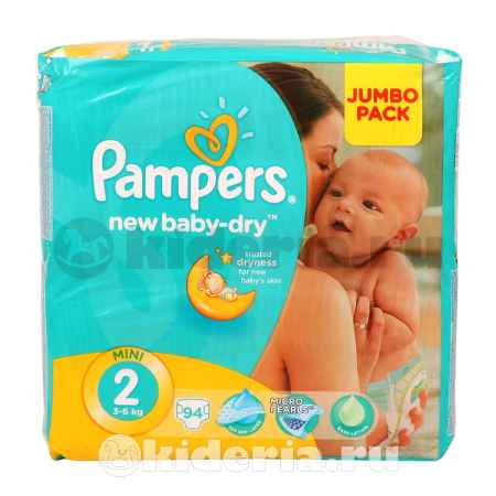 Купить Pampers Подгузники New Baby Mini, 3-6 кг