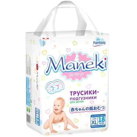 Купить Maneki Трусики Maneki Fantasy Mini 12 кг 18 шт Размер XL