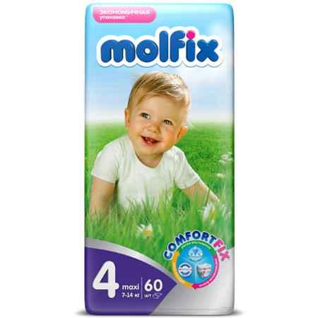 Купить Molfix Подгузники Molfix Maxi 7-18 кг. (60 шт.) Размер 4