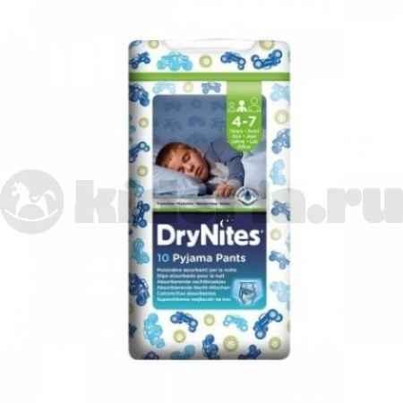 Купить Huggies Ночные трусики Драй Найтс для мальчиков, 17-30 кг