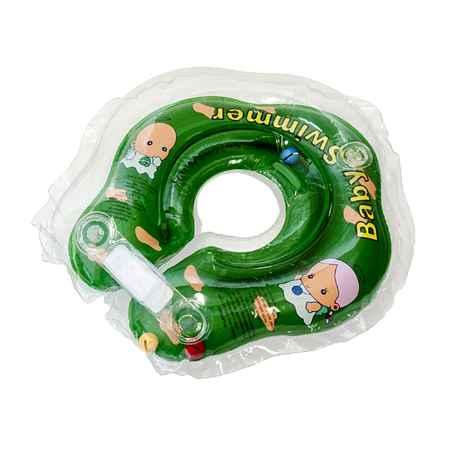 Купить Baby Swimmer Круг на шею Baby Swimmer с 0 мес. (3-12 кг.) Зеленый
