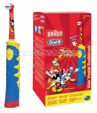 Купить Oral-B Kids Детская электрическая зубная щётка Mickey Mouse