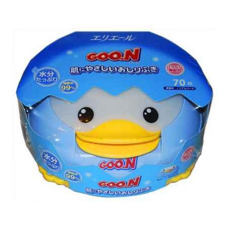 Купить GooN Салфетки влажные Goon с рождения Утенок (контейнер) 70 шт