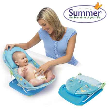 """Купить Summer Лежак Summer """"Baby Bather"""" голубой с 0 мес."""