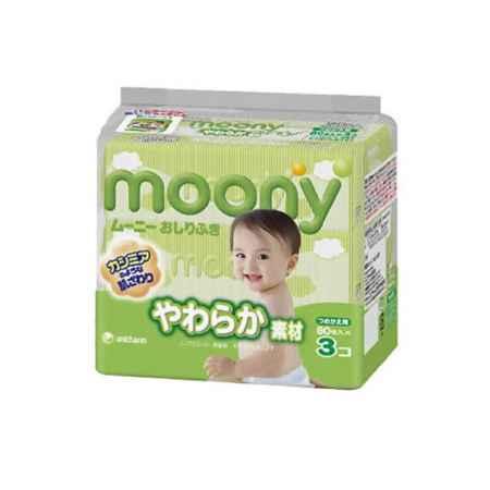 Купить Moony Салфетки влажные  Moony (запасной блок 80 шт х 3) 240 шт