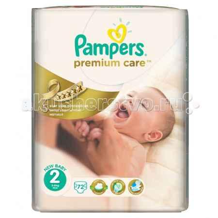Купить Pampers Подгузники Premium Care Эконом р.2 (3-6 кг) 72 шт.