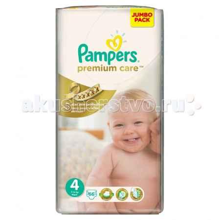 Купить Pampers Подгузники Premium Care Maxi р.4 (7-14 кг) 66 шт.