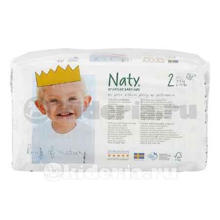 Купить Naty Подгузники Размер 2 (3-6 кг)