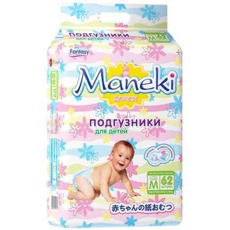 Купить Maneki Подгузники Maneki Fantasy 6-11 кг (62 шт) Размер M