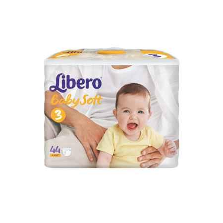 Купить Libero Подгузники Libero Comfort Midi 4-9 кг (44 шт) Размер 3