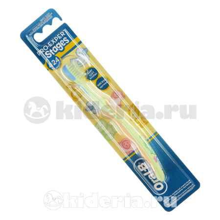 Купить Oral-B Stages, Зубная щетка Winni от 4 мес. до 2 лет