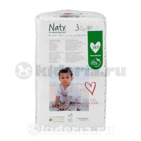 Купить Naty Подгузники Размер 3 (4-9 кг)