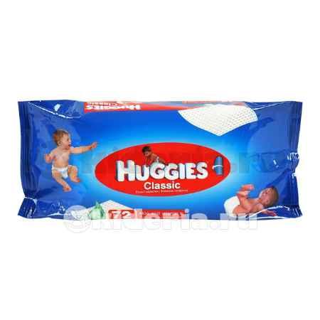 Купить Huggies Влажные салфетки Classic