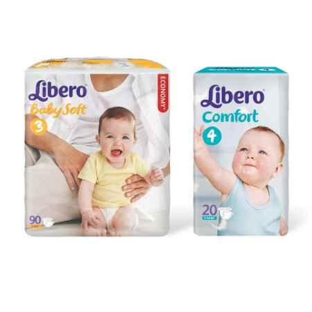 Купить Libero Набор Libero № 2 подгузники