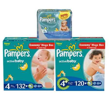 Купить Pampers Набор Pampers МЕГА №1 Непревзойденная сухость