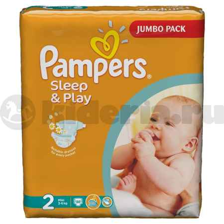 Купить Pampers Подгузники Sleep & Play Mini, 3-6 кг