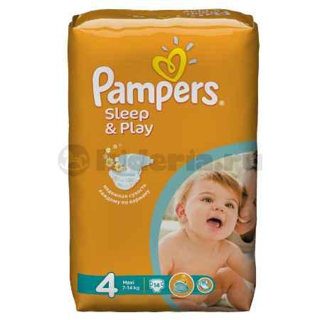 Купить Pampers Подгузники Sleep&Play , 7-14 кг