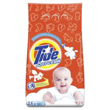 Купить Тайд Стиральный порошок Tide Тайд автомат.  Для чувствительной и детской кожи 2400 гр.