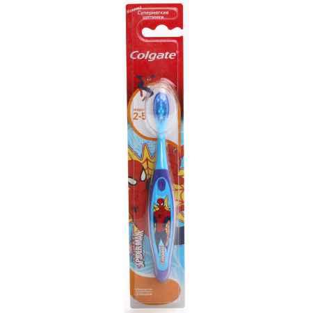 Купить Colgate Зубная щетка Colgate Smiles Barbie & Spaidermen от 2-х до 5 лет ( супермягкие щетинки)