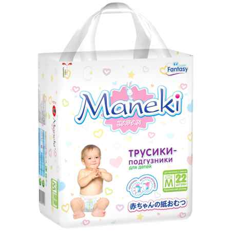 Купить Maneki Трусики Maneki Fantasy Mini 6-11 кг 22 шт Размер M