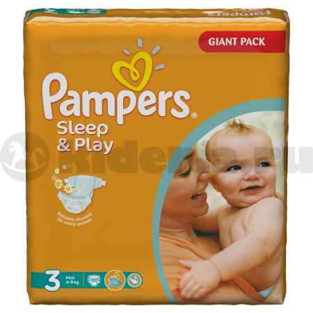 Купить Pampers Подгузники Sleep & Play Midi, 4-9 кг