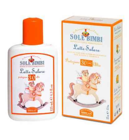 Купить Helan Солнцезащитное молочко Sole Bimbi SPF 30 125 мл