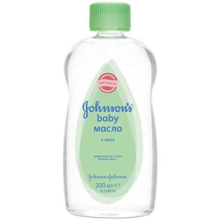 "Купить Johnson*s Johnson's baby ""Ежедневный уход"" Масло с алоэ с 6 мес 200 мл"
