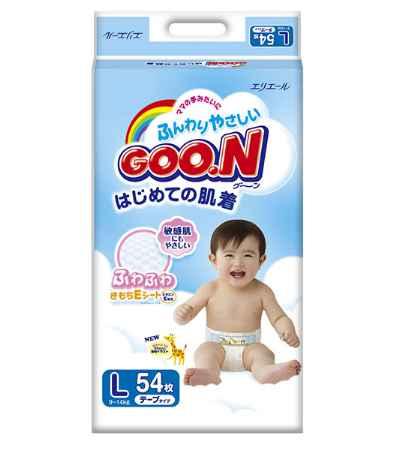 Купить GooN Подгузники L (9-14 кг) 54 шт.
