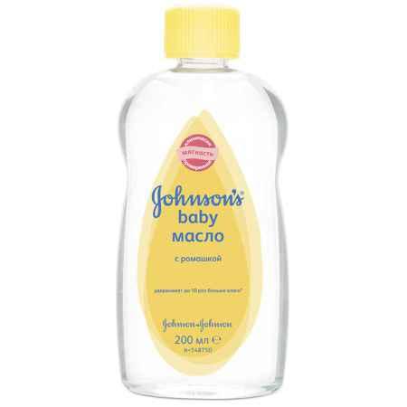 """Купить Johnson*s Johnson's baby """"Ежедневный уход"""" Масло с ромашкой с 6 мес 200 мл"""