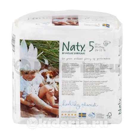 Купить Naty Подгузники Размер 5 (11-25 кг)