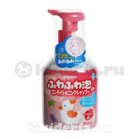 Купить Pigeon Шампунь-пенка для детей с дозатором, с 18 мес