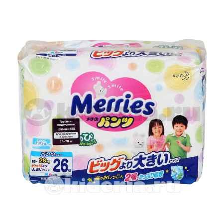 Купить Merries Трусики XXL, 15-28 кг