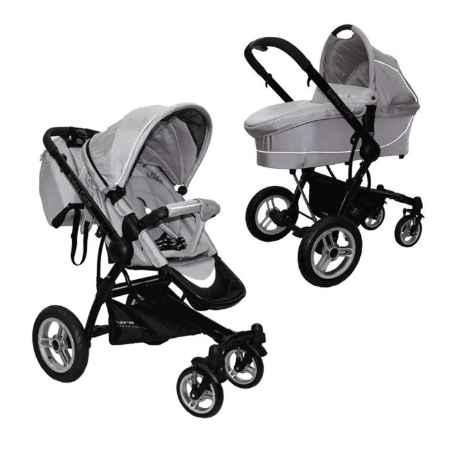 Купить Baby Care Коляскa Baby Care Suprim 2 в 1 silver