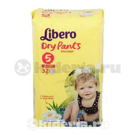 Купить Libero Трусики Dry Pants Maxi Plus 5 (10-14 кг)