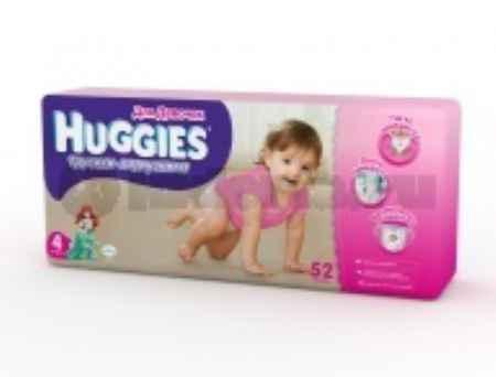 Купить Huggies Трусики для девочек 4 (9-14 кг)