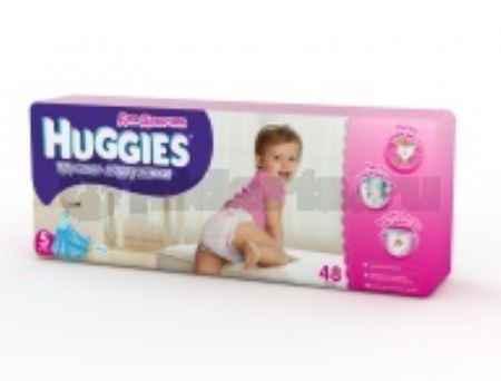Купить Huggies Подгузники-трусики для девочек 5, 13-17 кг